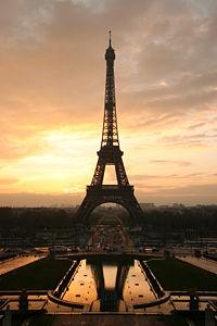 Франция эйфелевая башня