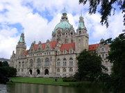 Ратуша города ганновер германия
