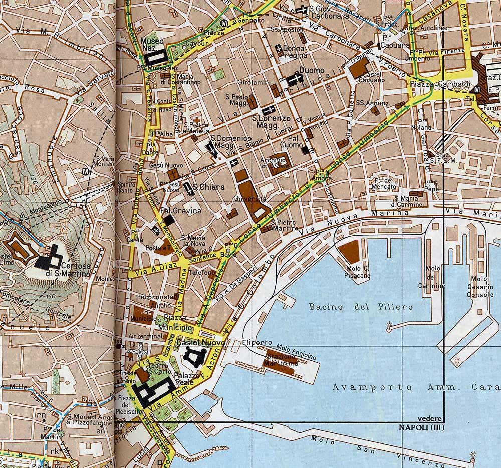 карта неаполя с достопримечательностями на русском языке скачать бесплатно - фото 3